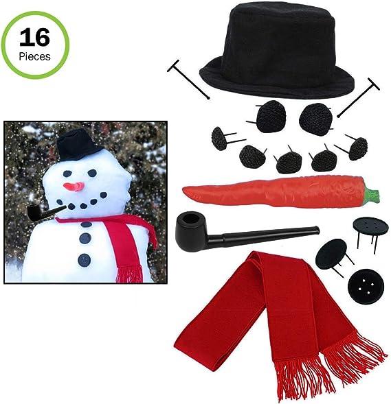 BUILD YOUR OWN SNOWMAN KIT MSRP $15.95