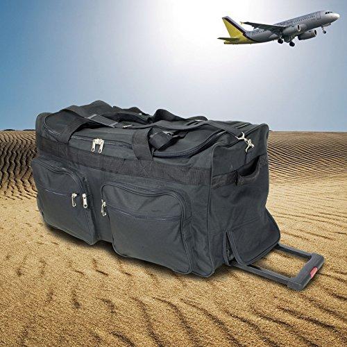 XXL Trolleytasche mit drei Rädern und komplett versenkbarem Trolleygriff / Reisetasche / Sporttasche