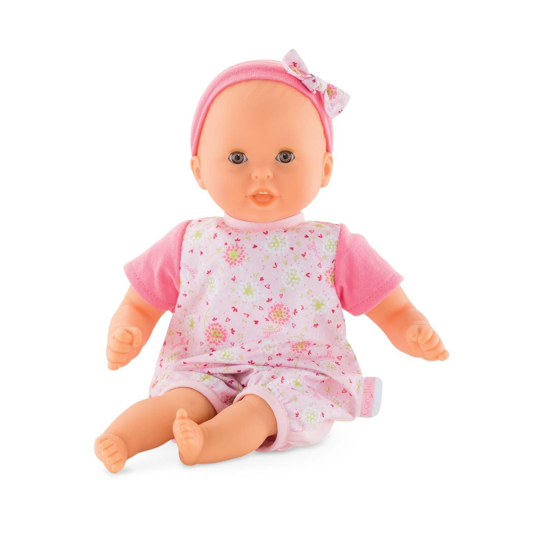 Amazon.es: Corolle fpj95 - Muñeca interactiva bebé Calin Besos ...