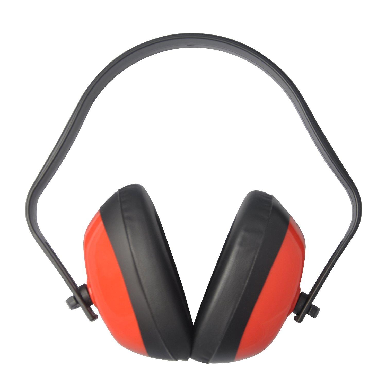 Viwanda Casque anti-bruit Noir de Sécurité ( Casque Protecteur oreilles ) SNR 26dB NNR 25dB CE EN 352-1