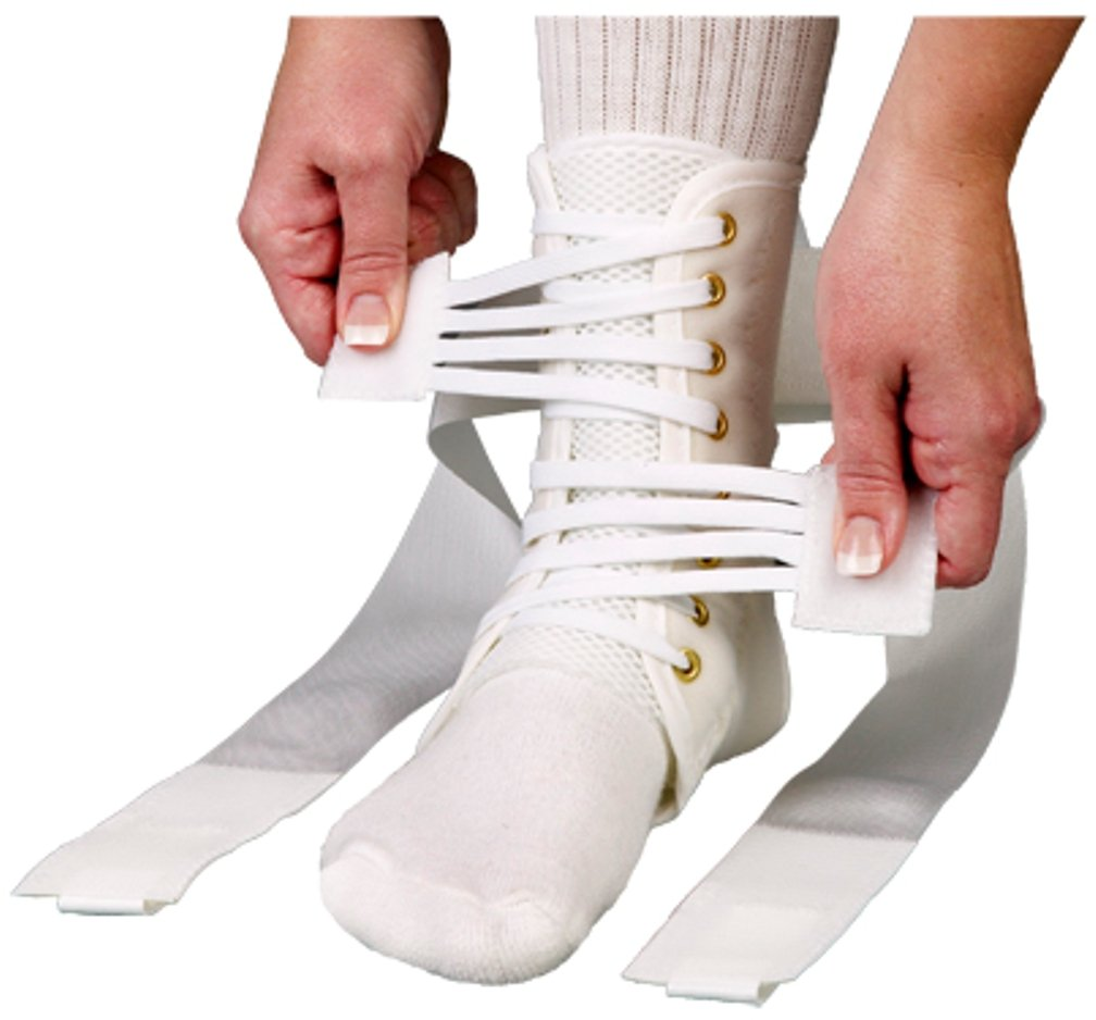 ASO Speed Lacer Ankle Brace (Small - White)