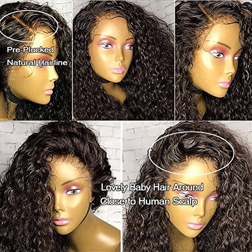 GAMAY HAIR Lace Front Human Hair Wigs for Black Wome Remy...