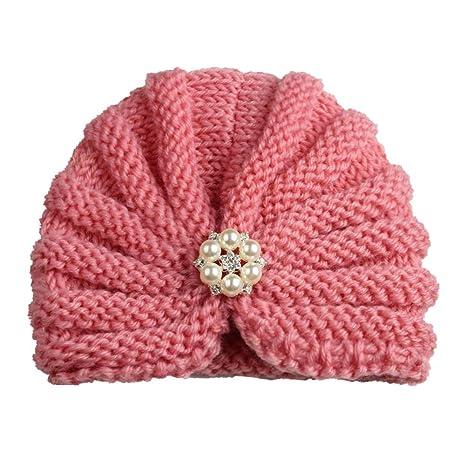 mnoMINI Sombrero de Turbante para bebé niña, diseño de ...