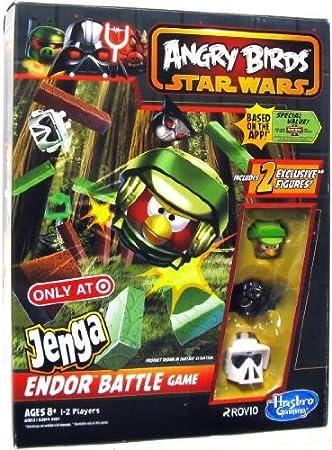 Hasbro Angry Birds Star Wars Jenga Endor Juego de Batalla: Amazon.es: Juguetes y juegos