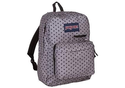 Amazon.com  JanSport Digibreak 2 Laptop Backpack (Black Dot-O-Rama ... 2e41082367a23