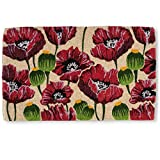 Abbott Collection Coir Poppy Doormat (Extra Large)