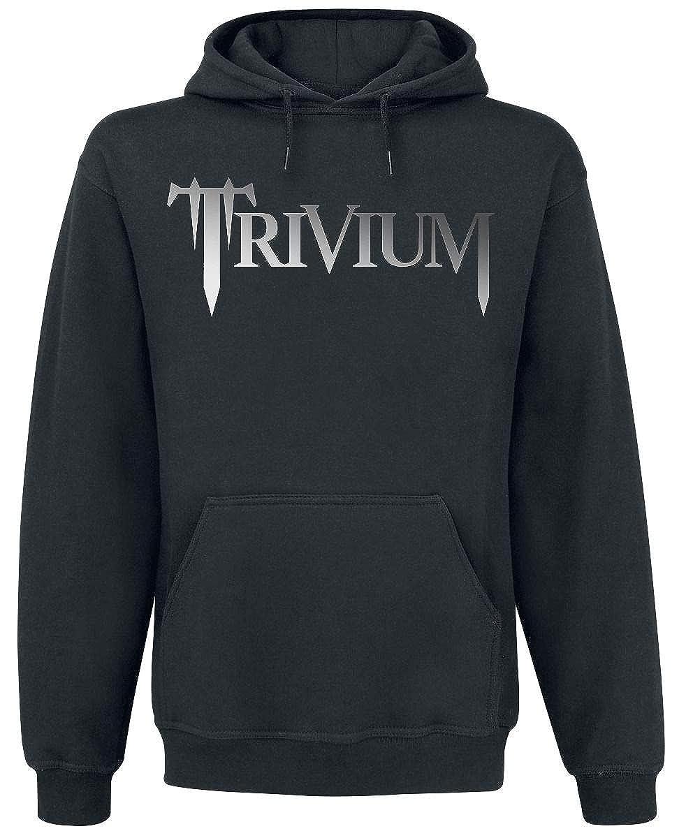 Trivium Classic Logo Sudadera con Capucha Negro