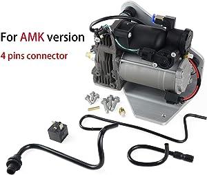 Air Suspension Compressor Pump (4 pins connector) Fit for La-nd Ro-ver LR3 LR4 AMK Style & Range Rover Sport LR015303 LR023964 LR061663 LR078650 949-900