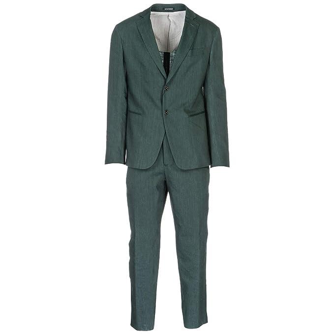 Emporio Armani Vestido Hombre Verde 50 EU: Amazon.es: Ropa y ...