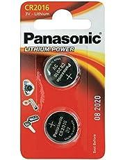 CR2016 Batterie de Pièces de Monnaie x 2 / Lithium 3V / pour Les Montres, Torches, Clés de Voiture, Calculatrices, Appareils Photo, etc / iCHOOSE