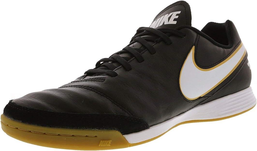 chaussures de foot en cuir nike