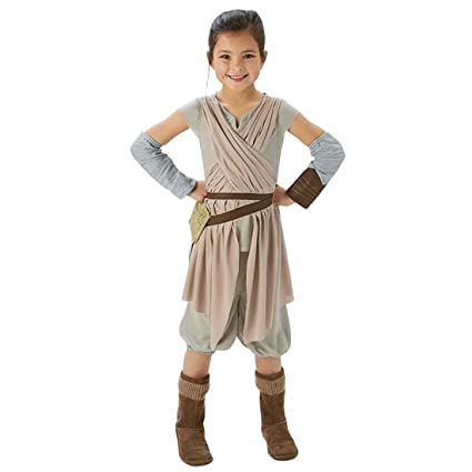 Disfraz infantil de Rey Traje de niña Start Wars L 140 cm ...