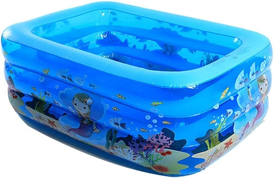 TYUIO Swim Center Ocean Reef Piscina Inflable, Piscina Inflable Bañera Infantil para bebés Piscina Familiar Cuadrada para bebés, para Mayores de 3 años: Amazon.es: Hogar