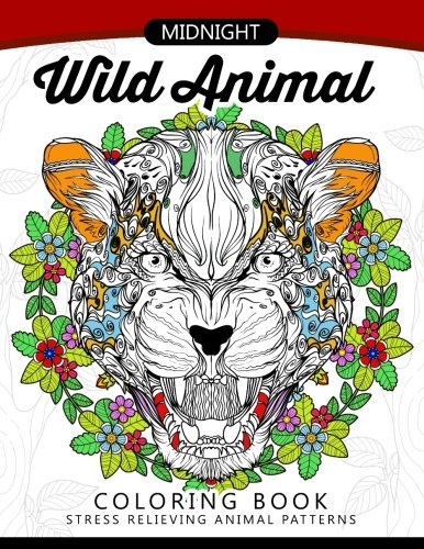midnight-wild-animal-coloring-book-an-adult-coloring-book-awesome-design-of-panda-tiger-lion-rabbit-and-others