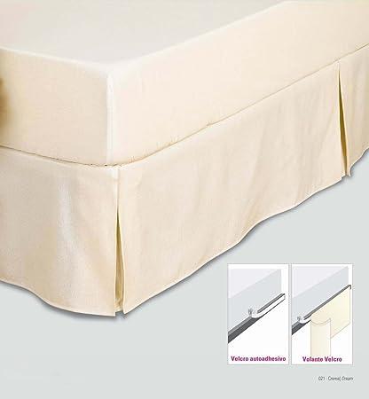 Cubre canapé teflón con velcro Color Crudo Tamaño Cama 105 ...
