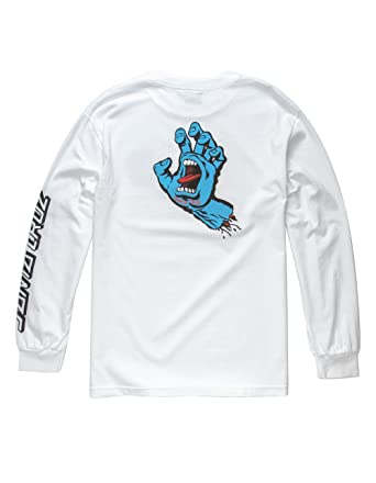9b07a7d9 Amazon.com: Santa Cruz Mens Screaming Hand Regular Long-Sleeve Shirt:  Clothing