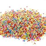 MChoice colorful Styrofoam Sugar Sprinkles Decorative Slime DIY Craft For Crunchy Slime (A)