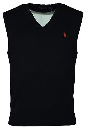 0023e05fd Polo Ralph Lauren Men s Pima Cotton Sweater Vest (S