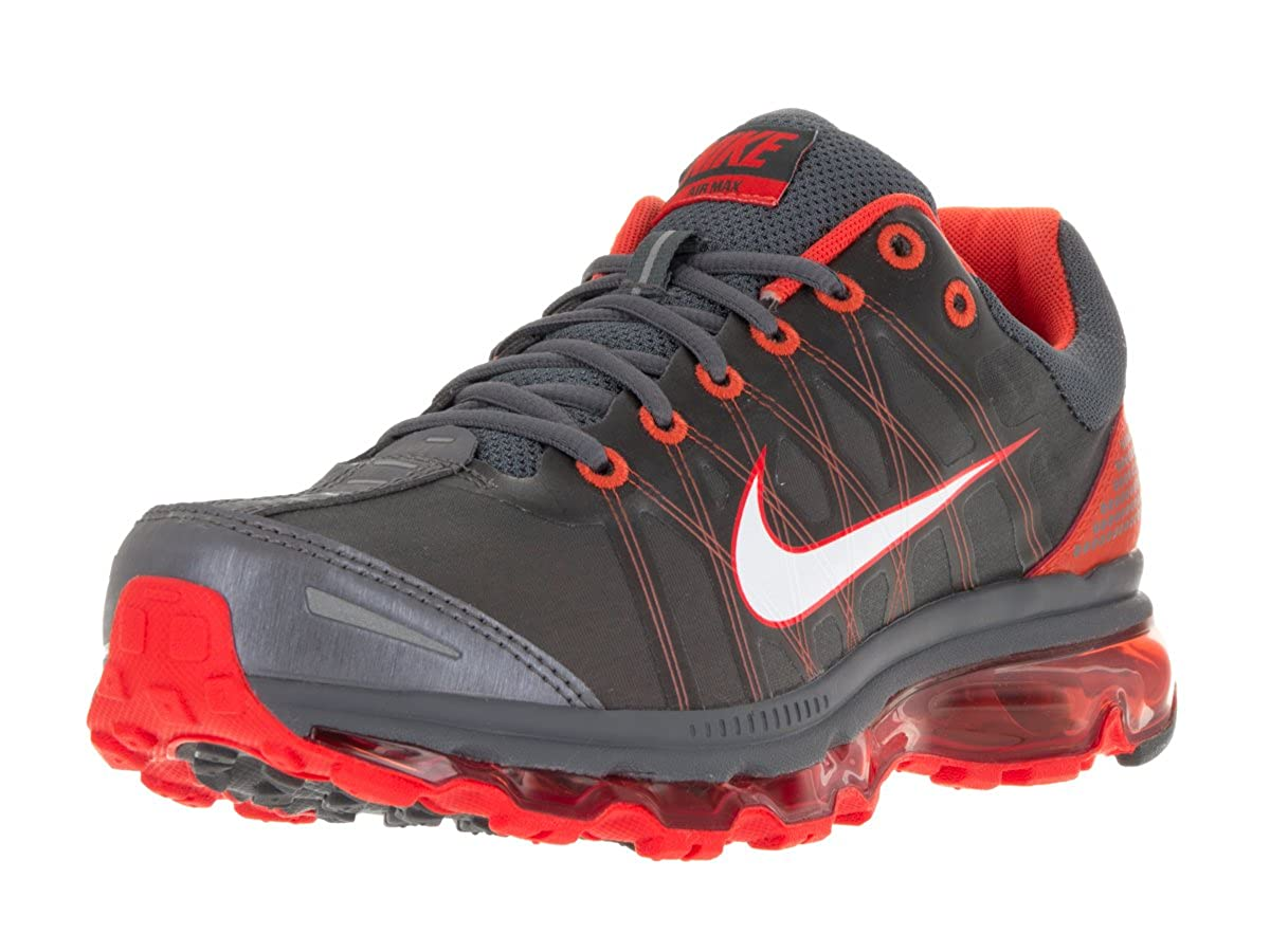 hot sale online a62d4 e3e41 Nike Men s Air Max 2009 Dark Grey White Vivid Orange Running Shoe 7. 5 Men  US  Buy Online at Low Prices in India - Amazon.in