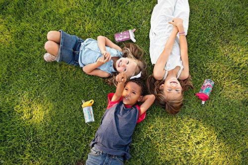 CamelBak Eddy+ Kids BPA-Free Water Bottle with Straw, 14oz, Skate Monsters (2282402040)