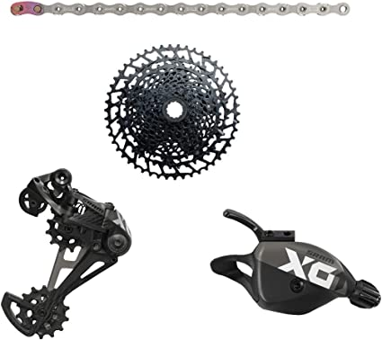 ALL NEW SRAM X01 Eagle Rear Trigger Shifter Discreet Clamp 12 Speed MTB Bike Red