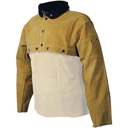 Caiman Gold Boarhide Welding-Apparel Large 3031-5 Cape Sleeve