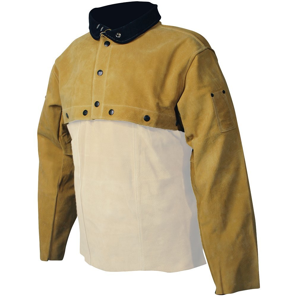 Caiman Gold Boarhide - Cape Sleeve, Welding-Apparel Large by Caiman (Image #1)