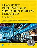 img - for Transport Processes and Separation Process Principles (5th Edition) (Prentice Hall International Series in the Physical and Chemical Engineering Sciences) book / textbook / text book