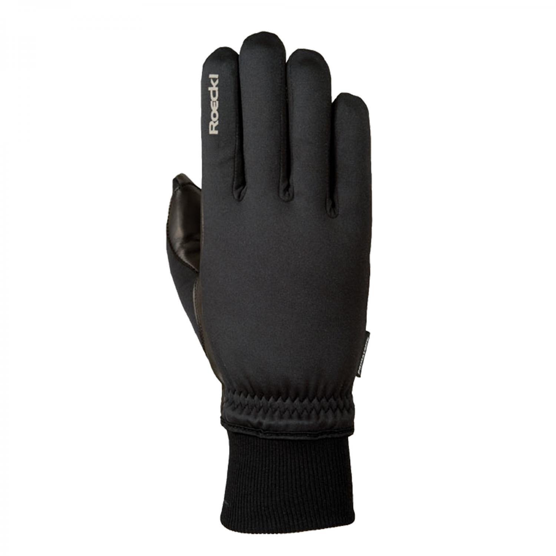 Roeckl Kolon Winter Fahrrad Handschuhe lang schwarz: Größe: 7.5