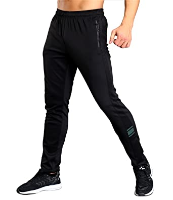 8103d90e Srizgo Tracksuit Bottoms Black with Zip Pockets Mens Jogging Trousers for  Sports and Leisure: Amazon.co.uk: Clothing