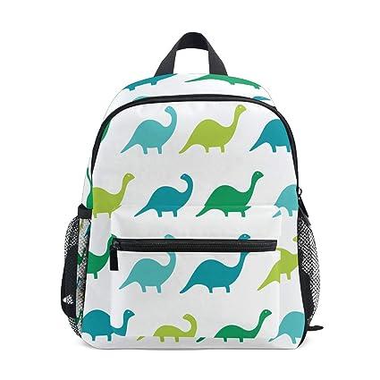 FANTAZIO Mochilas para niños, Dinosaurios, Mochila Escolar