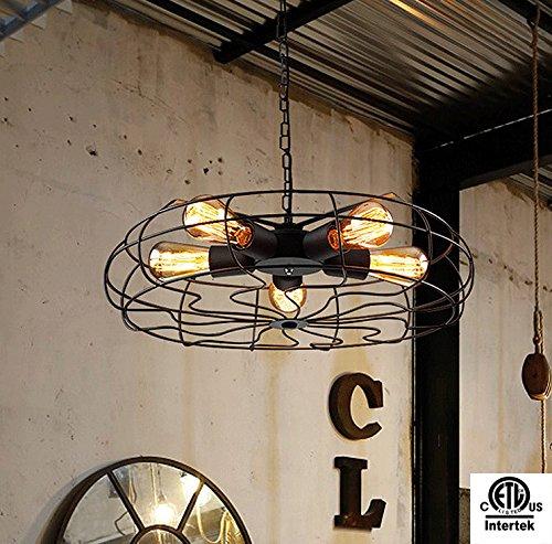 Ameride ETL listed 540W Edison Fans Retro Pendant ceiling lamp AD-RL-C203 by Ameride