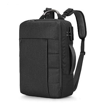 Desconocido Mochila Ordenador de Negocio Maletín Computadora Bolsa Backpack Impermeable para Portátil 15.6 Pulgadas Bolso Antirrobo de Viaje Gran Capacidad ...