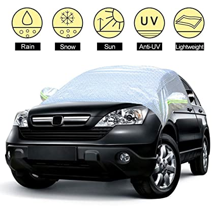 Amazon Com Windshield Sun Shade Cover Dust Ice Windproof Car