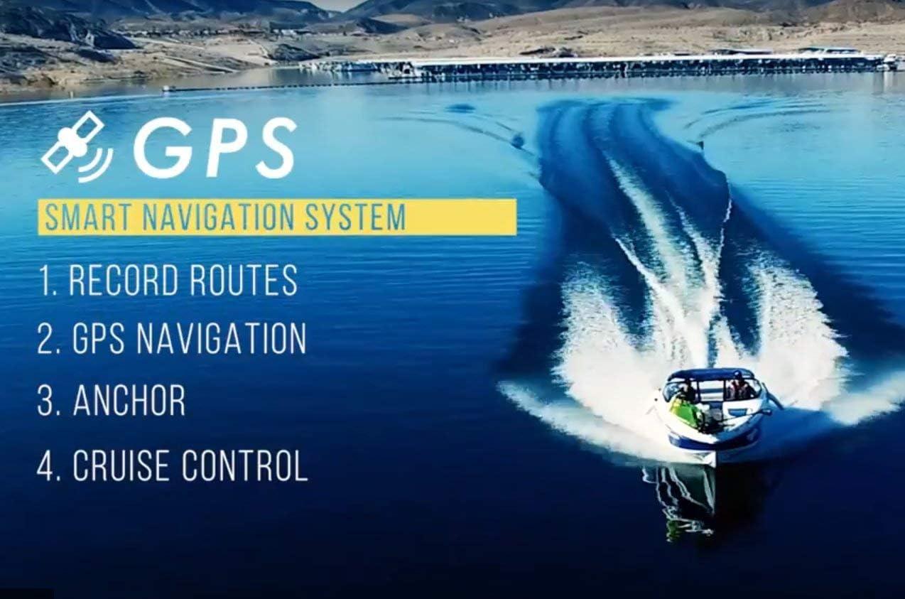 "Black 12V 55LBS 48/"" Helmsman GPS Haswing Bow Mount Trolling Motor for Bass Boats"