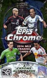 2014 Topps Chrome MLS Soccer Hobby Box