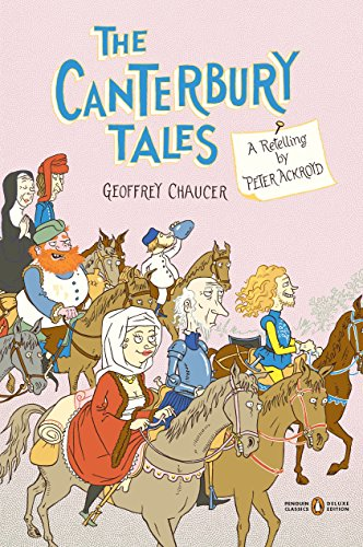 Book cover for The Canterbury Tales