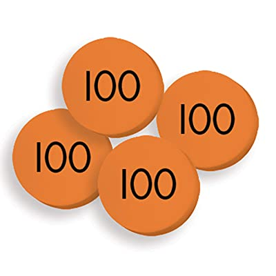Essential Learning Products 100 Hundreds Place Value Discs Set: Toys & Games