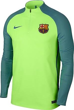 Nike FCB M Nk Aroswft Strke Dril Camiseta de Manga Larga FC ...