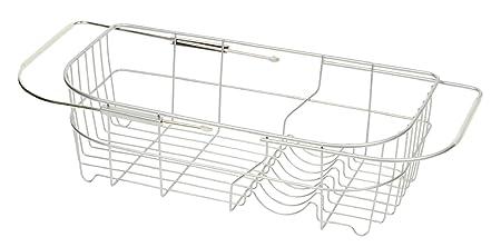 パール金属 食器 水切り かご シンク スライド式 シンプル・ウェア HW-7304