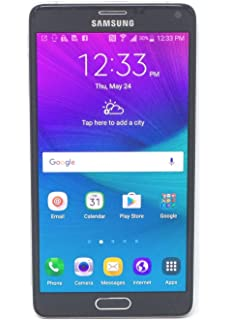 Amazon.com: Samsung Galaxy Note 4, Charcoal Black 32GB (AT&T)