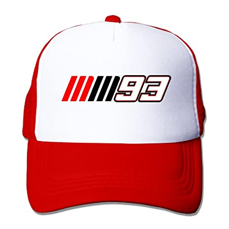 Roung moto GP Marc Marquez 93 Logo Gorra de béisbol