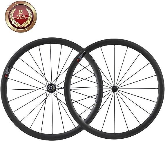 IMUST 38mm 700C Aero Carbono Bicicleta Carretera Rueda Tubular ...
