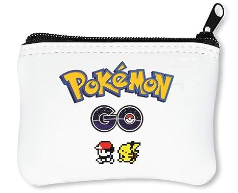 cf6735a984 Pokemon Go Ash Pikachu Portafoglio Con Cerniera Porta Monete: Amazon ...