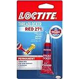 Loctite 209741 Heavy Duty Threadlocker, 0.2 oz, Red 271, 0.2