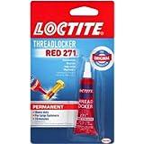 Loctite Threadlocker Red 271,0.20 fl. oz(209741)