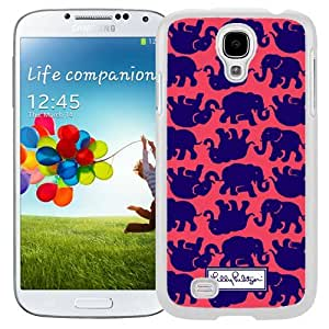 Personalized Lilly Pulitzer 17 Galaxy S4 Generation Phone Case in White
