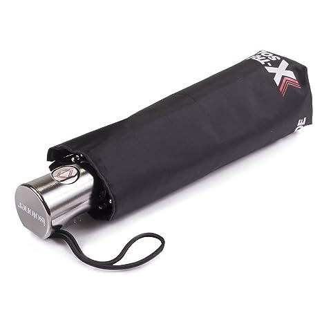 ISOTONER parapluie automatique X-TRA SOLIDE 09451 - NOIR