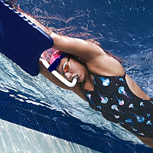 Speedo Bullet Head Swimmer's Snorkel, Shocking Lime, 1SZ