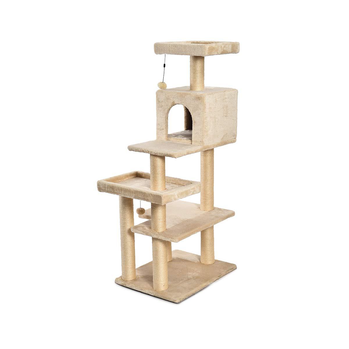 Amazon.com: AmazonBasics - Árbol para gatos de varios ...